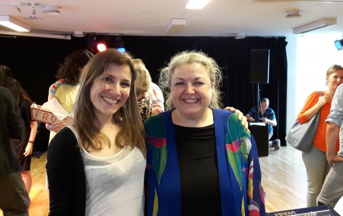 KCV avec Cathrine Sadolin